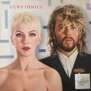 Eurythmics - Revenge (LP) (EX/G+)